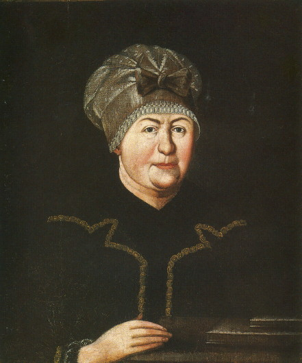 Image - A portrait of Hanna Zabila (eatly 18th century).