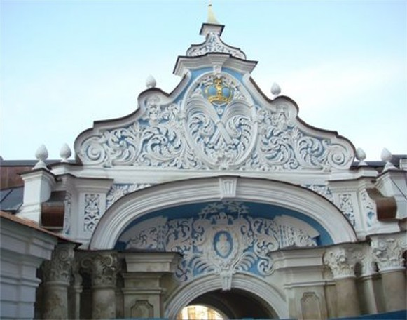 Image - The Zaborovsky Gate (tympanum).