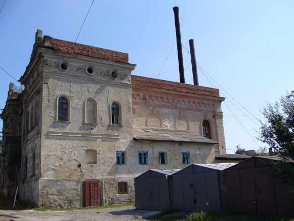 Image - Zalishchyky: the building of the former synagogue.