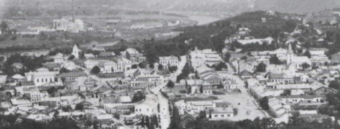 Image - Panorama of Zalishchyky during the interwar period.