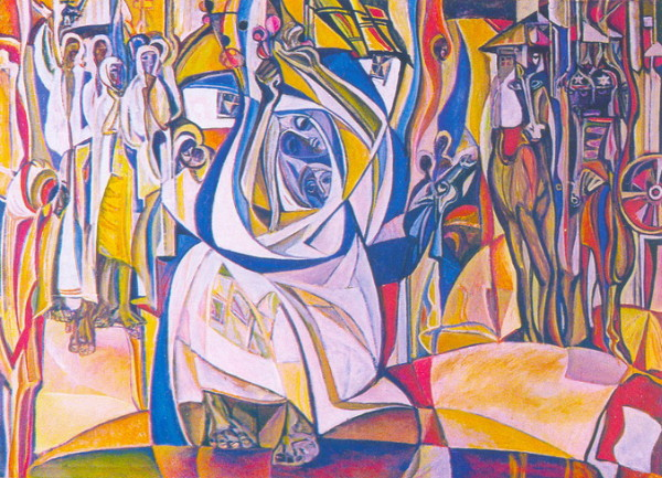 Image - Opanas Zalyvakha: Composition No 2.