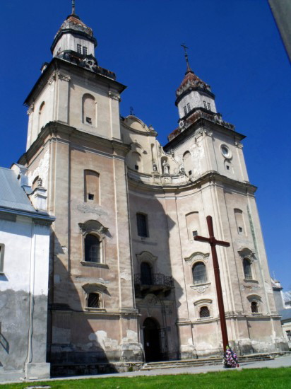 Image - The Roman Caholic Church of Saint Anthony in Zbarazh, Ternopil oblast.