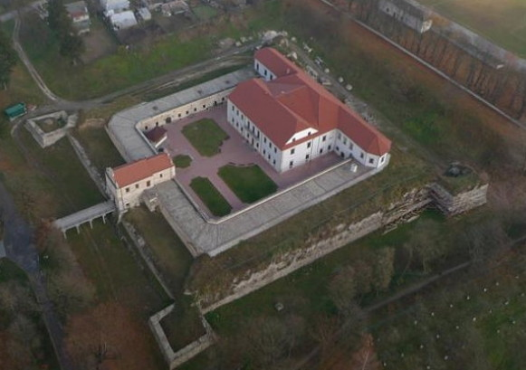 Image - Zbarazh castle (aerial view).