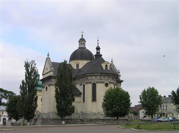Image - Saint Lawrence Church in Zhovkva, Lviv oblast.