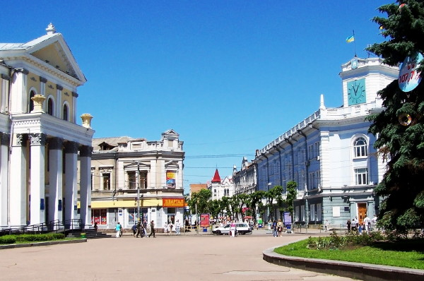 Image - Zhytomyr city center.