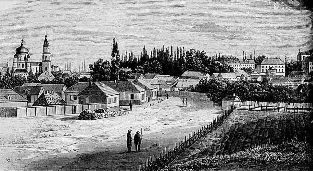 Image - Zhytomyr (old lithograph).