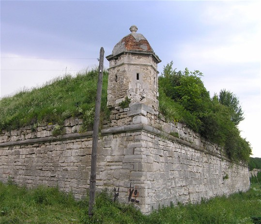 Image - Zolochiv castle (16th century; rebuilt in 1634-6): fortification walls.