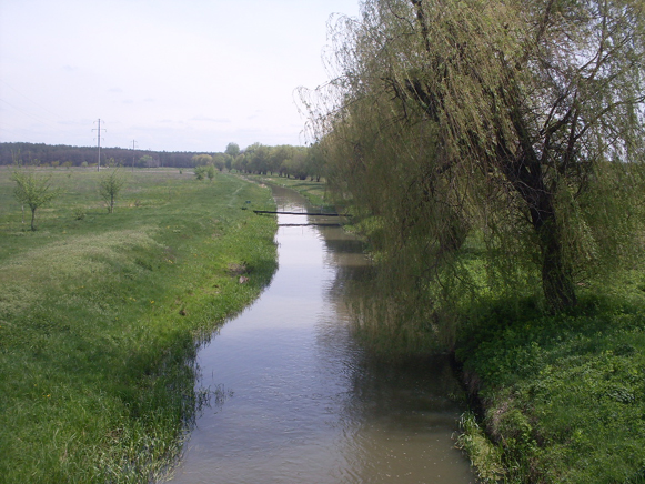 Image - The Zolotonoshka River (near Zolotonosha).